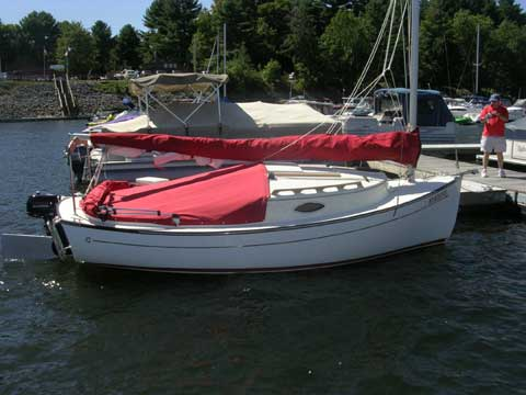 ComPac Suncat 18 sailboat
