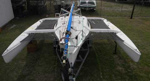 Corsair F-24 MK1 sailboat