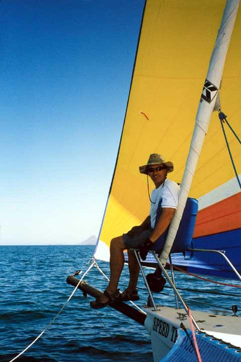 Corsair F28cc trimaran sailboat