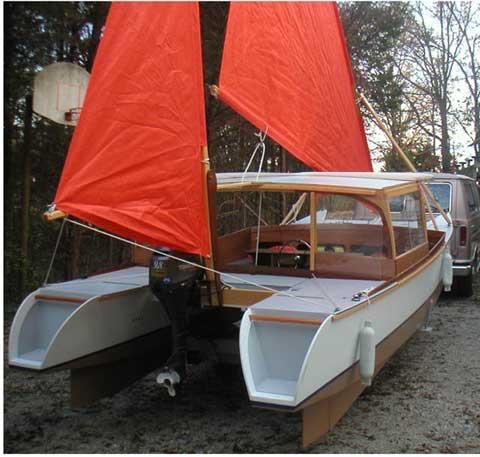 CrabClaw Catamaran, 19 ft., 2004 sailboat