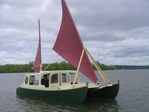 Crab Claw 21 catamaran sailboat