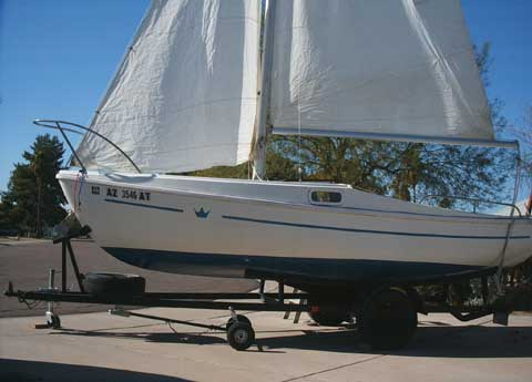 Crown 18 sailboat