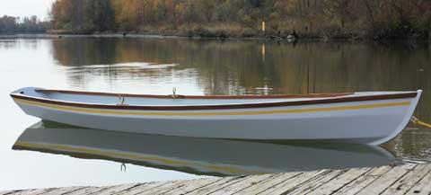 14ft rowing/sailing skiff, 2009 sailboat