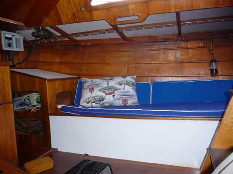 Custon G & S 30 sailboat