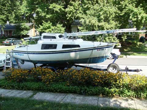 Dockrell 22 sailboat