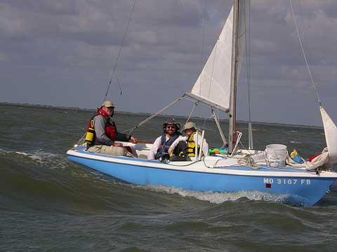 Dolphin 17 sailboat