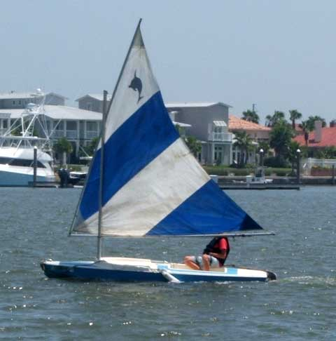 Dolphin Junior sailboat