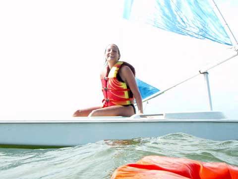 Dolphin Sr sailboat