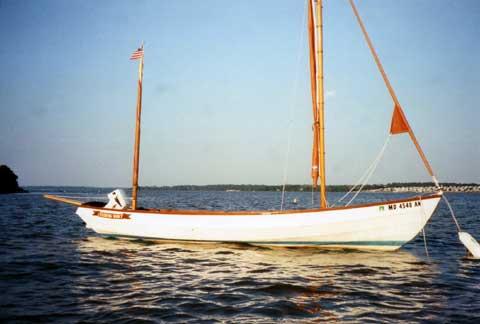 Drascombe Longboat 22 sailboat
