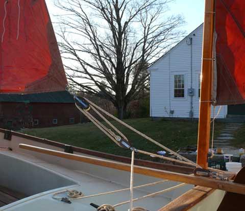 Drascombe Dabber 16 sailboat