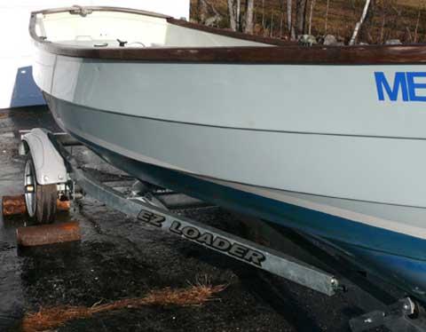 Drascombe v16 sailboat
