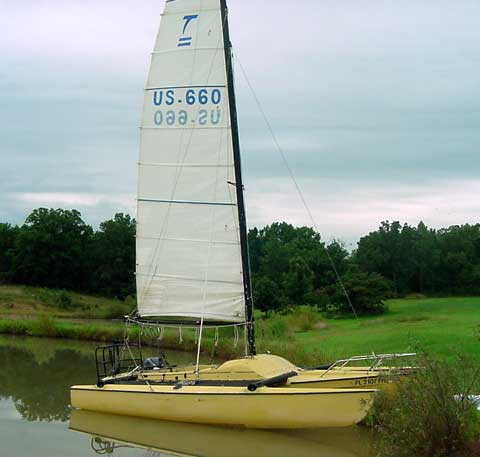 Eagle 20 sailboat