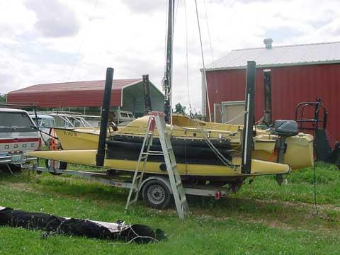 Eagle 20 sailboat