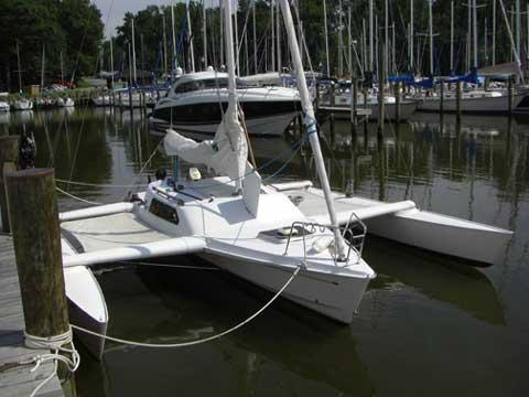 Elan 7.7 trimaran sailboat