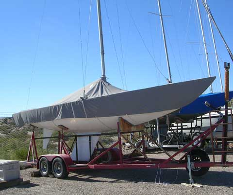 Etchells sailboat