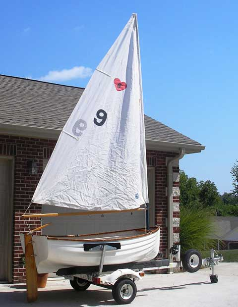 Fatty Knees sailboat