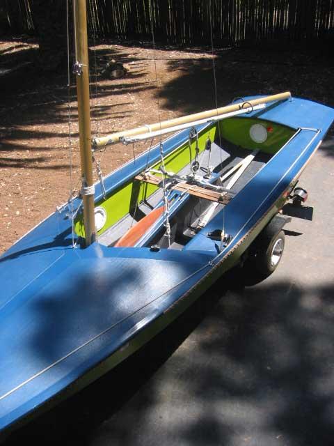 Fireball, 16', 1973 sailboat