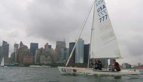 Flying Dutchman, L. Mader USA, 1975 sailboat
