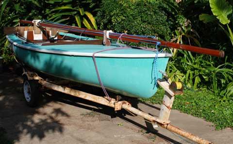 Flying Junior sailboat