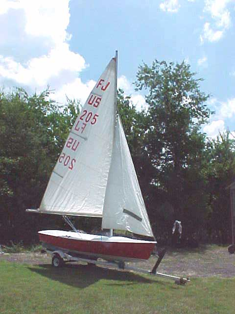 Sailboat Trailer For Sale >> Flying Junior, 1961/2, Clarksville, Texas sailboat for sale