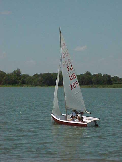 Flying Junior, 1961/2 sailboat