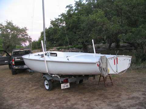 Flying Scot sailboat