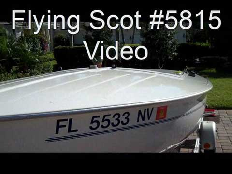 2008 Flying Scot sailboat VIDEO