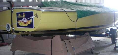 Flying Scot Hull, 1960 sailboat