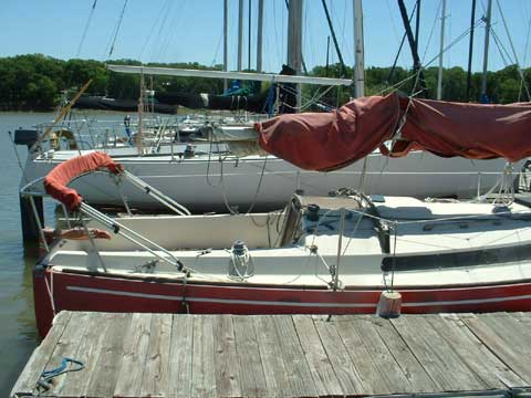 Freedom Cat Rigged Sloop 25, 1982 sailboat