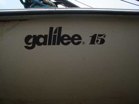 Galilee 15, 1985 sailboat