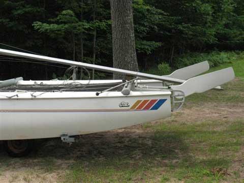 GCat Catamaran 5.7 meter/ 18 foot, 1983 sailboat