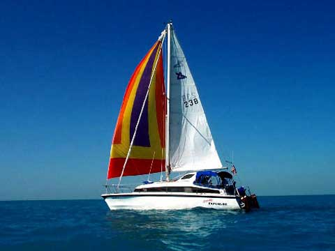 Gemini 3000 sailboat