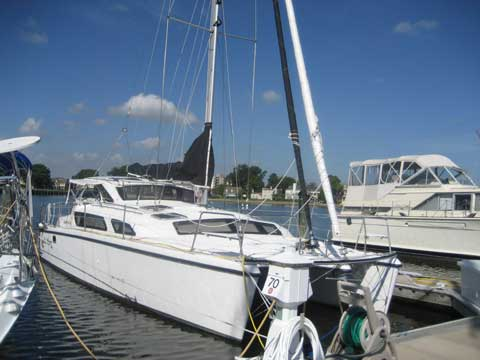 Gemini 34 sailboat