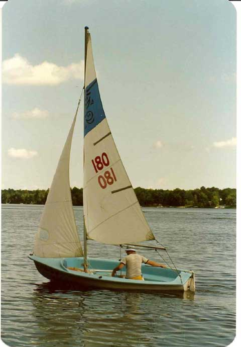 Ghost 13, 1959 sailboat