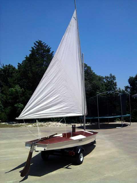 Glastron Alpha, 1967 sailboat