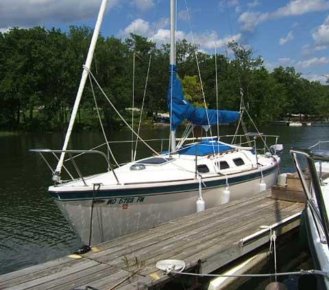 Gloucester 23 sailboat