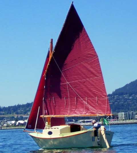 Great Pelican 16 sailboat