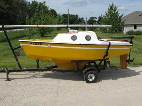 Guppy 13 sailboat