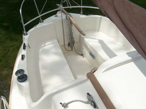 Halman 20 1982 Deale Maryland sailboat for sale