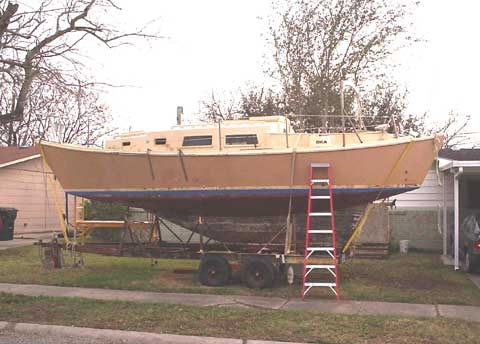 Harasty 31 sailboat