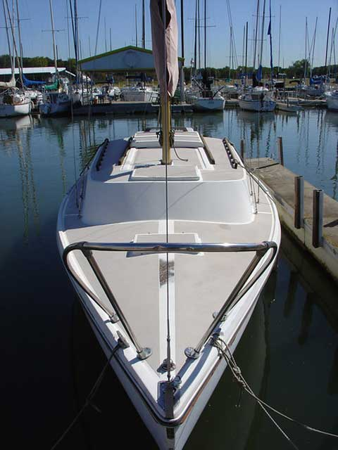 Helms 25 sailboat