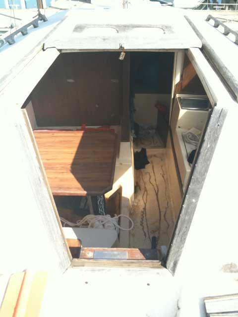 Helms 25 sailboat
