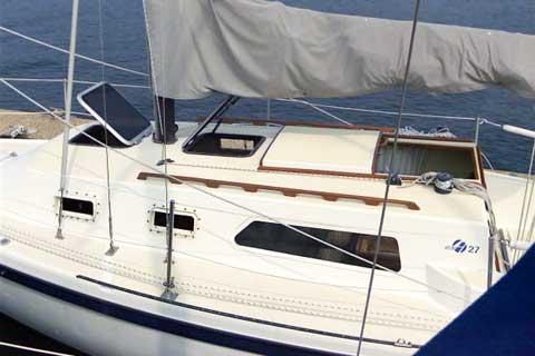 Helms 27 sailboat