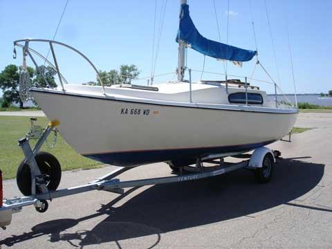 Helsen 22 1973 Wichita Kansas Sailboat For Sale