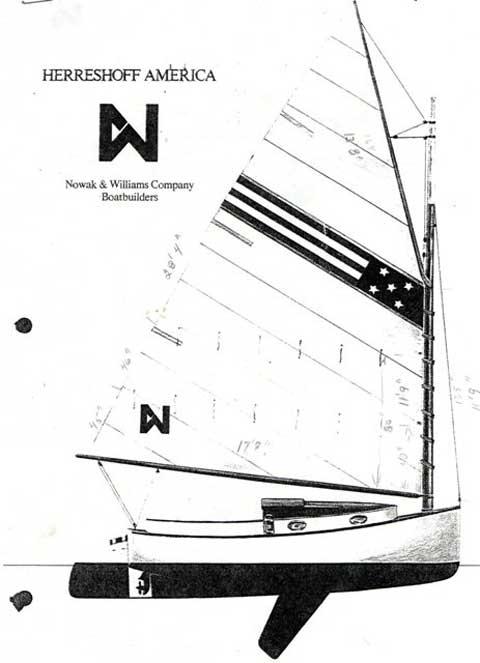 Herrshoff America 18' Catboat