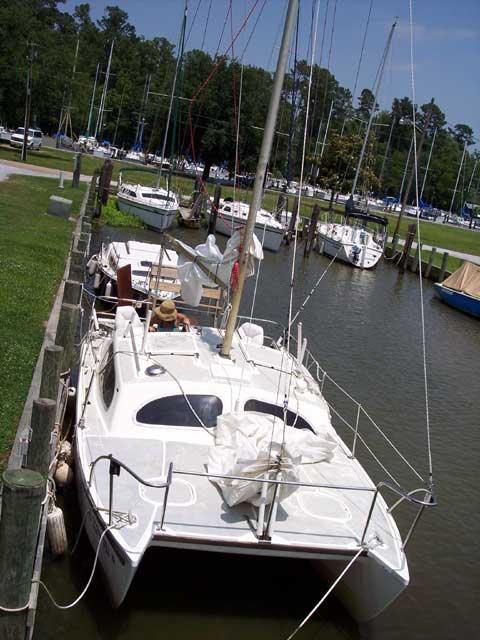 Hirondelle 23 sailboat
