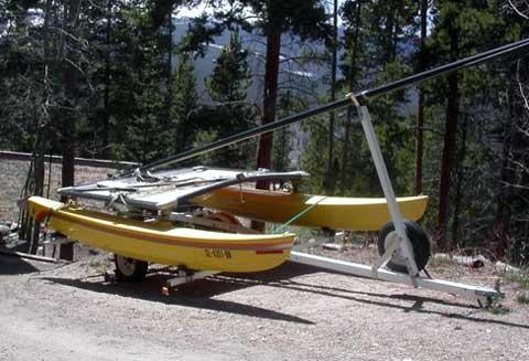 Hobie 14 sailboat