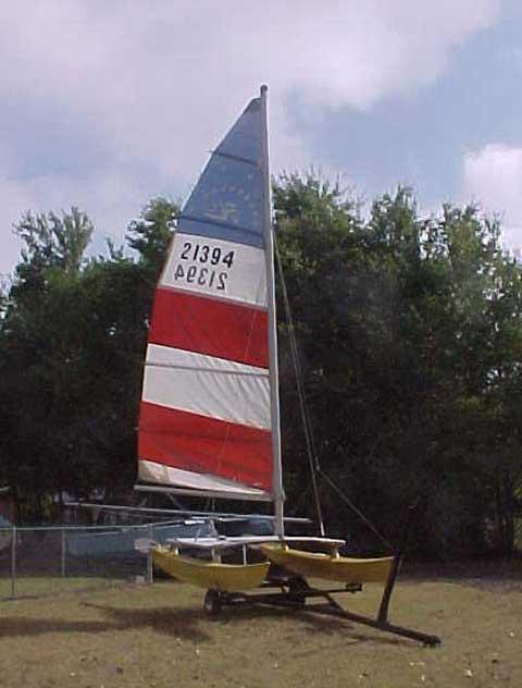 Hobie 14 Catamaran, 1974 sailboat