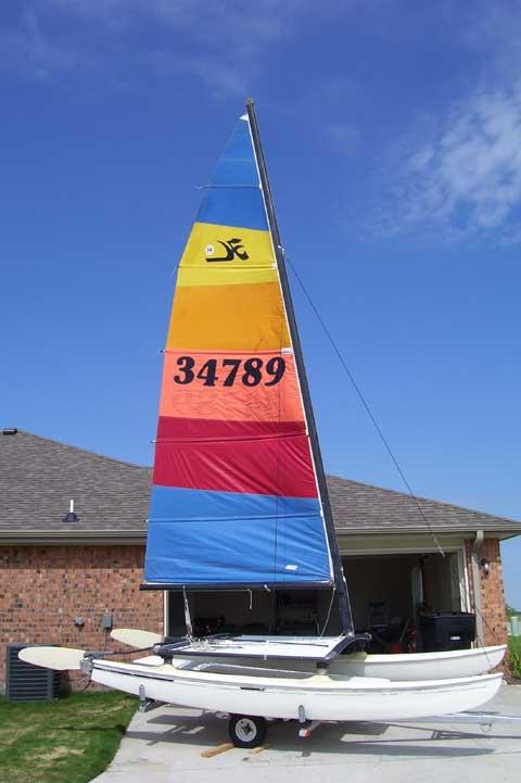 Hobie 14 Catamaran, 1977 sailboat