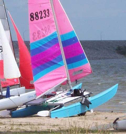 Hobie 16 sailboat